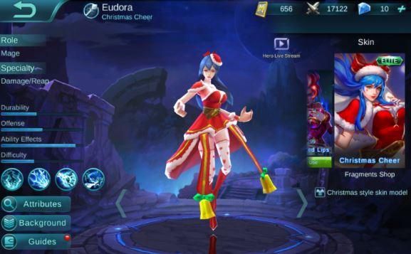 Build Item Gear dan Emblem Set Eudora di Mobile Legends Build Item Gear dan Emblem Set Eudora di Mobile Legends