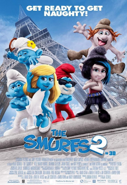 Poster Of The Smurfs 2 (2013) 720p Hindi BRRip Dual Audio Full Movie Download