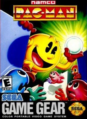 Jogo retro online Pac-Man Game Gear