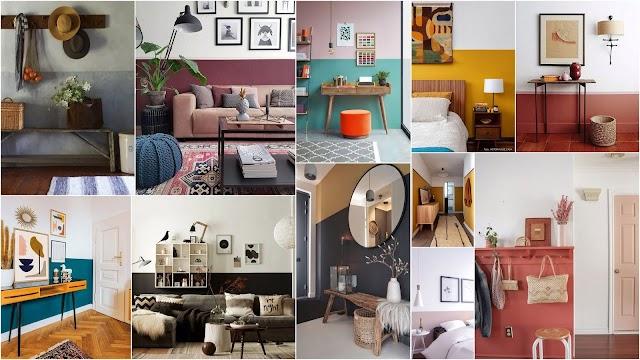 Ο πιο απλός τρόπος διακόσμησης εσωτερικών χώρων μόνο με χρώμα