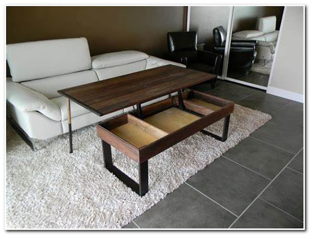 COFFEE TABLE THAT LIFTS UP
