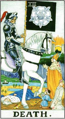 Death Tarot Card Meaning - Major Arcana