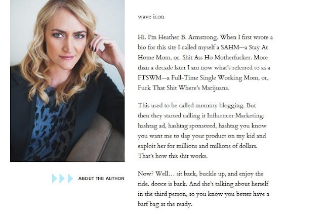 Blog Ibu Rumah Tangga Yang Sukses Meraup Uang : Dooce.Com