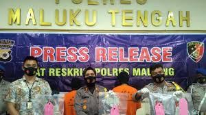 Polres Maluku Tengah Berhasil Bekuk 2 Bandar Togel