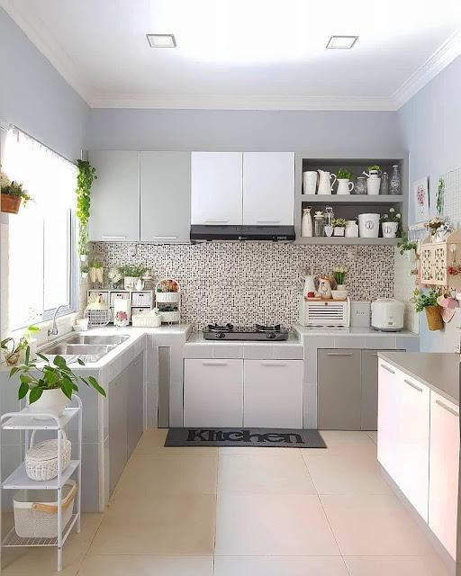 gambar dapur minimalis yang cocok untuk rumah kecil