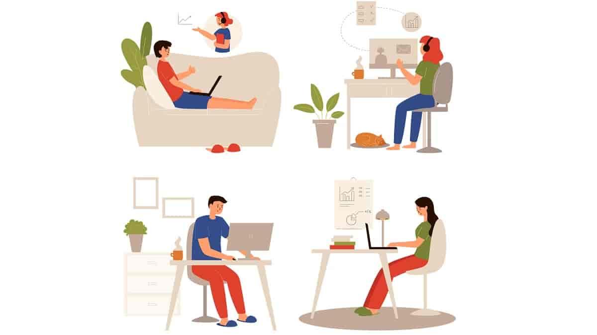 incentivar a produtividade de funcionários em home office