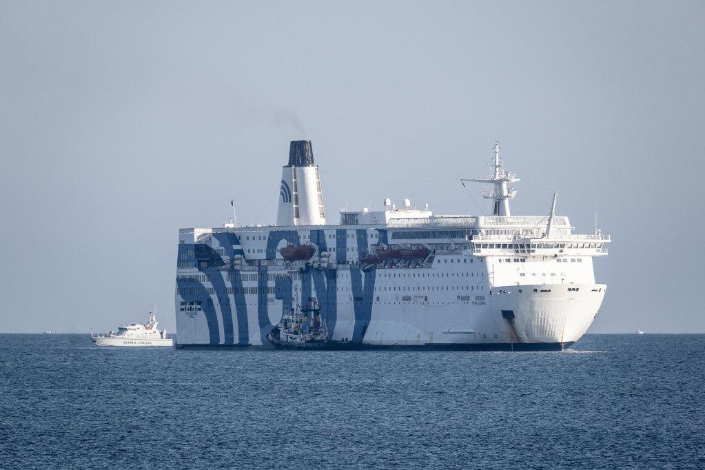 Italie : Un navires de quarantaine pour des centaines de migrants