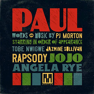 PJ Morton, Paul, album, r&b album, new music firday, Paul album, grammy award winner, spotify, itunes, tidal, apple music