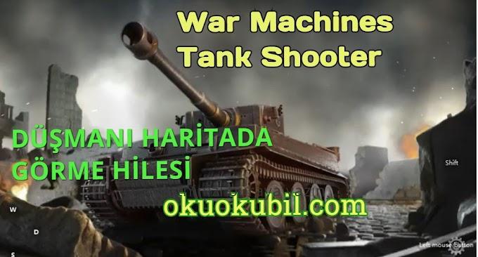 War Machines Tank Shooter v5.10.0 Düşman Görme, Sınırsız Para Hileli Mod Apk İndir 2020