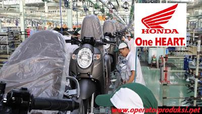 Informasi loker paling terbaru bulan september 2019 pendidikan diutamakan SMK Otomotif Posisi Operator Produksi Pabrik Perusahaan Bonafit PT Astra Group Honda Motor (AHM)