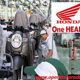 Loker Ter'Update Operator Produksi PT Astra Honda Motor (AHM) September 2019