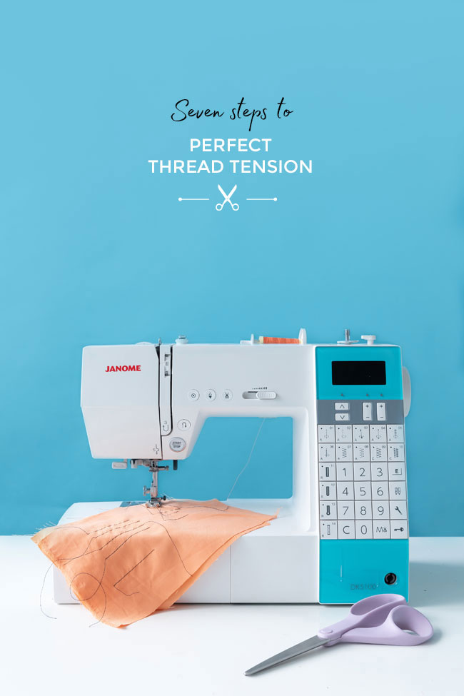 Seven steps to perfect thread tension - Tilly and the Buttons