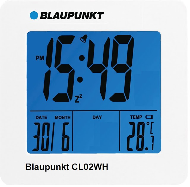 Blaupunkt CL02WH multi-function alarm clock