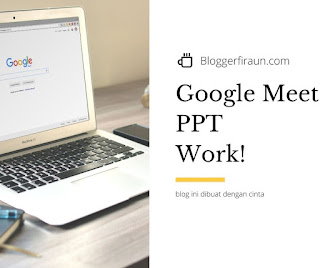 cara presentasi di google meet lewat laptop atau ponsel