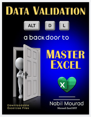Data Validation a back door to Master Excel