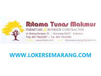 Lowongan Kerja Semarang Assembling & Penyetelan Furniture di Ritama Tunas Makmur