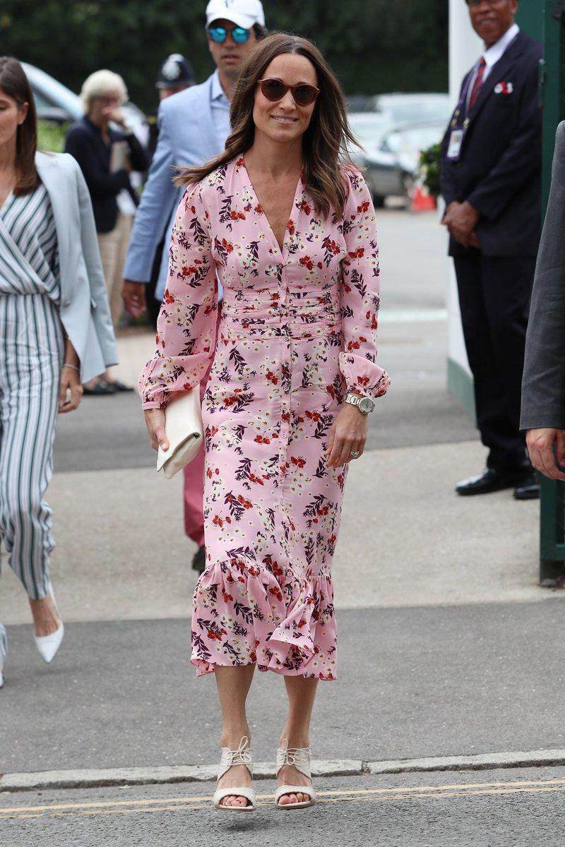 Os looks de primavera da Pippa Middleton