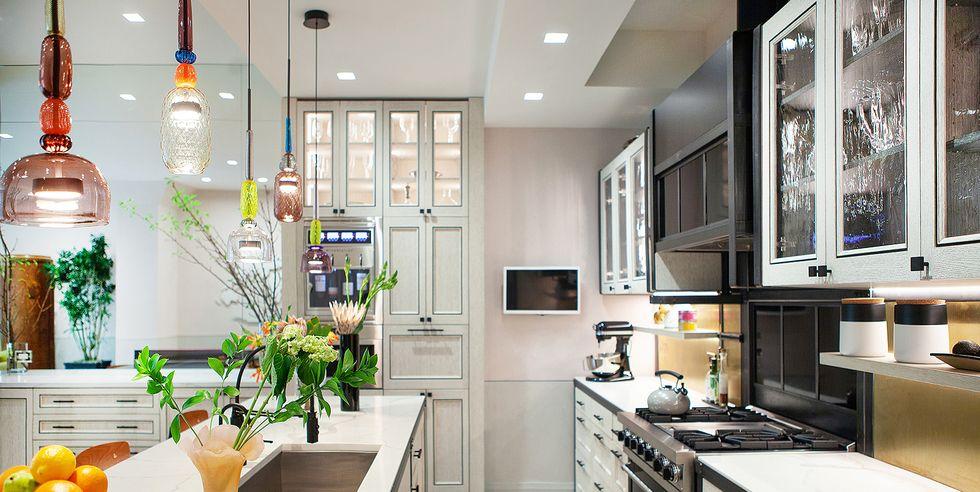 60 ideas de diseño de lamparas modernas para decorar su cocina