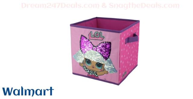 LOL Surprise Reversible Sequin Storage Cube