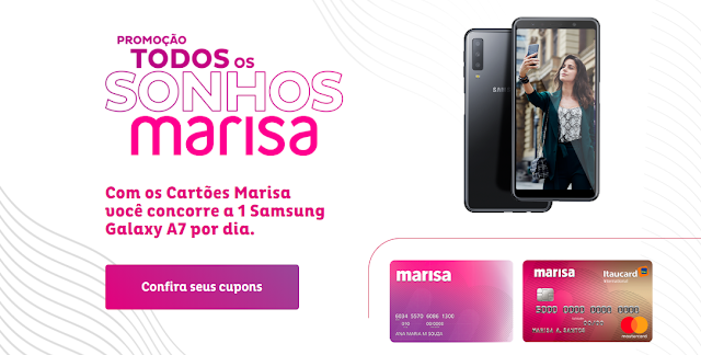 promoção loja marisa celular