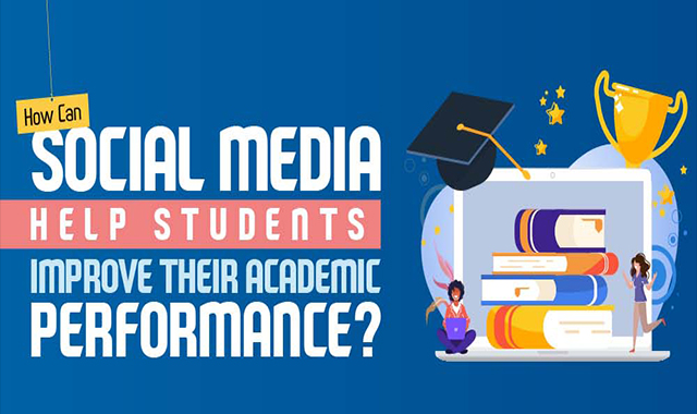 How can learners enhance their social media academic performance? #infographic