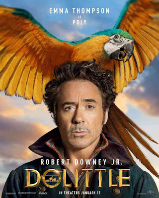 Dolittle 2019 Dual Audio [Hindi Clean + English DD 2.0] 720p HDRip Download
