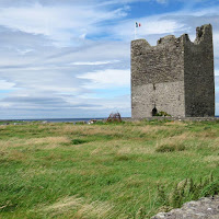 Pictures of Ireland: Easkey Castle in County Sligo