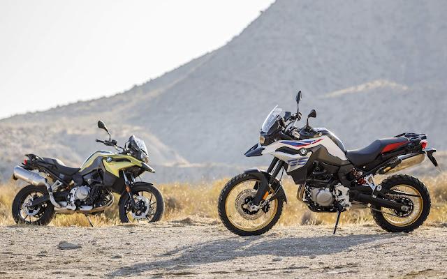 Novas BMW F 750 GS e F 850 GS 2020: fotos, preços e itens