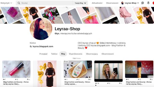 Współpraca komercyjna blog blogerka leyraa.blogspot.com blog modowy blog urodowy