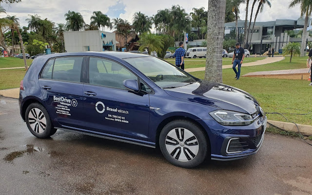 VW Golf GTE híbrido em Brasília