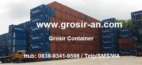 Container Bekas 20 40 Feet dijual Di Medan