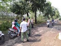 Satgas PPKM Mikro Desa Sambiroto Kajen, Adakan Penyemprotan Desinfektan Cegah Covid-19