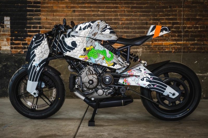 Custom MAGPUL RONIN motorcycle 3