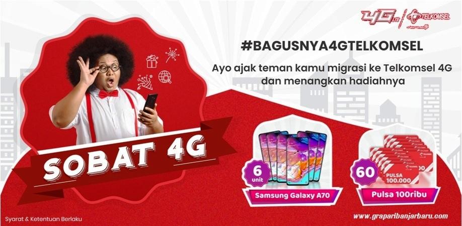 Upgrade 4g Bisa Dapat Handphone 4g Yuk Ikutan Grapari Banjarbaru