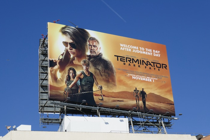 Terminator Dark Fate billboard