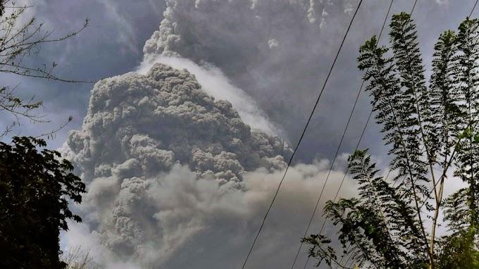 A nuvem de dióxido de enxofre que pode atingir a Madeira