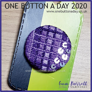 One Button a Day 2020 by Gina Barrett - Day 82: Glimmer