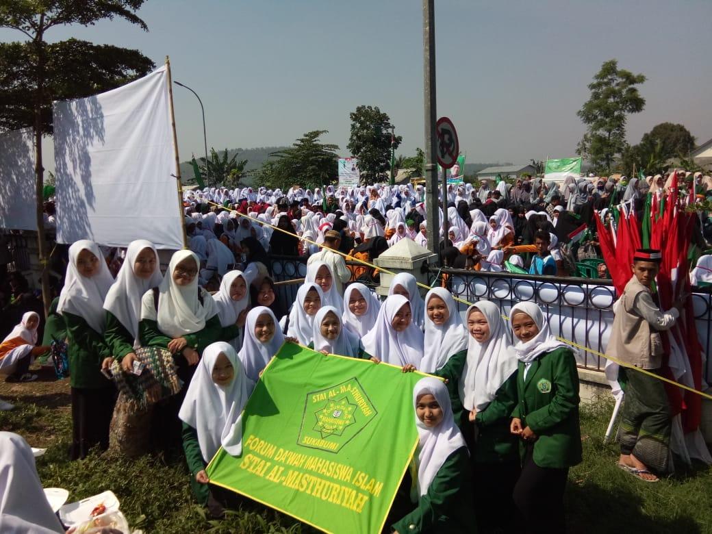 FDMI Putri di Hari Santri Nasional