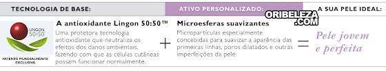 Tecnologia de Optimals Skin Youth da Oriflame