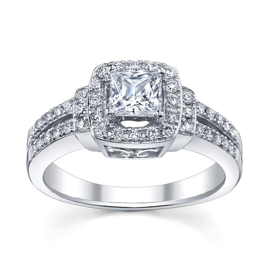 white gold engagement rings form women fresh photos 2013 world latest fashion trends. Black Bedroom Furniture Sets. Home Design Ideas
