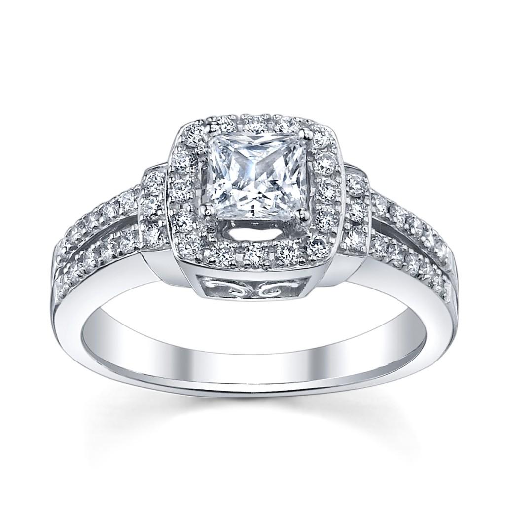 White Gold Engagement Rings Form Women Fresh Photos 2013