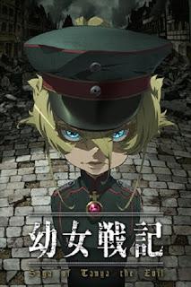 detail dan nonton trailer anime Youjo Senki (2017)