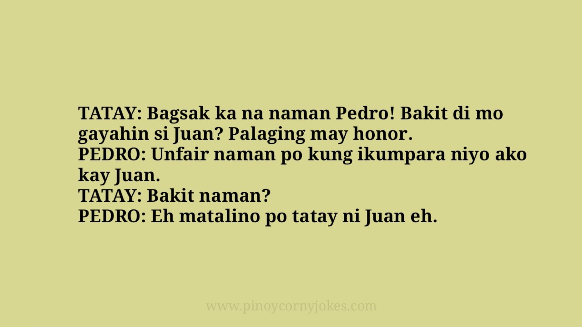 bagsak tatay jokes pinoy 2021