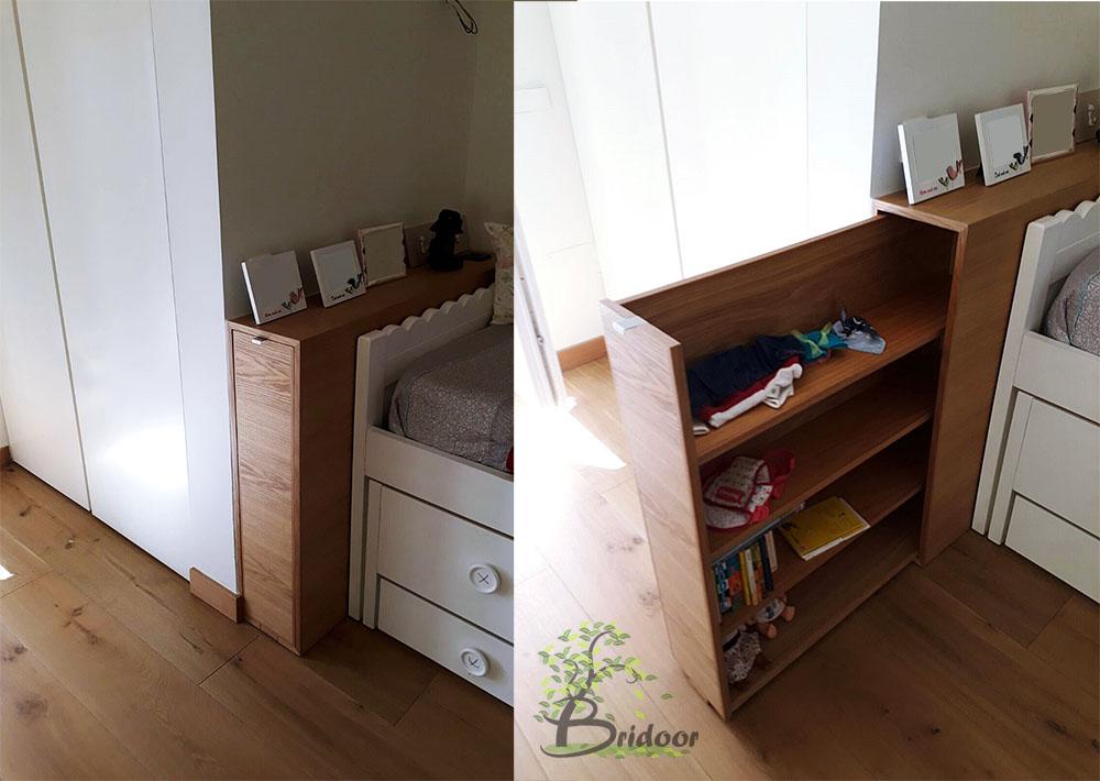 Bridoor s l muebles curvos y cabeceros a medida para un piso en madrid - Cabeceros de madera a medida ...