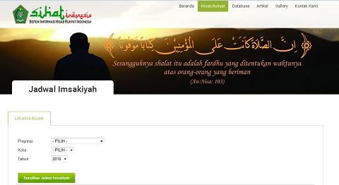 Jadwal Imsakiyah Ramadhan 1437 H/2016 M Kemenag RI Untuk Seluruh Provinsi/Kota di Indonesia