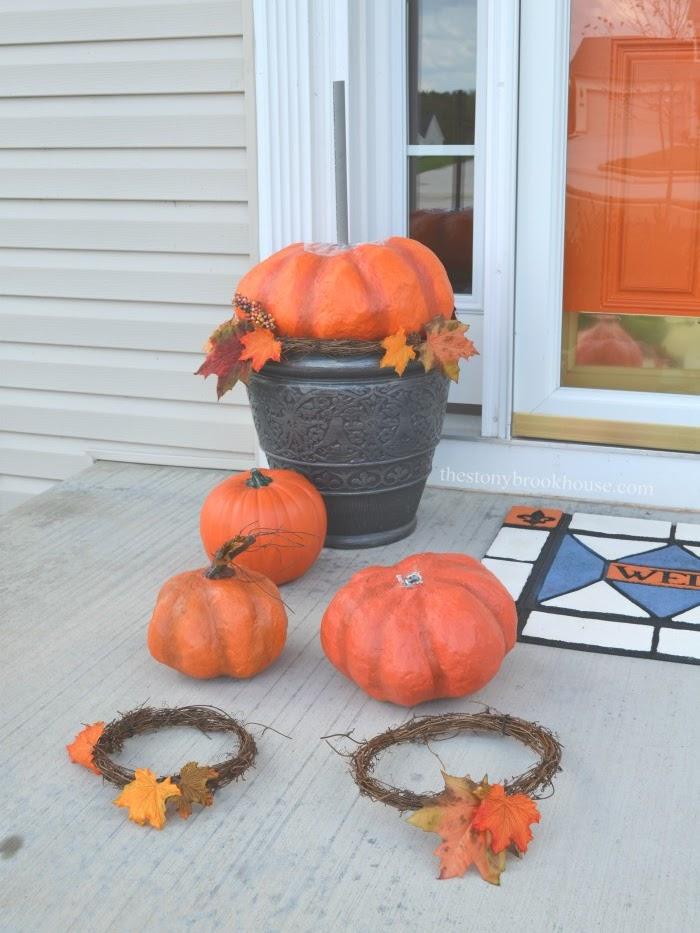 Pumpkins disassembled