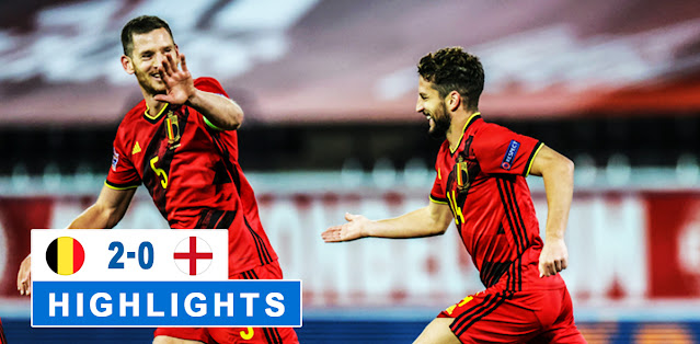 Belgium vs England – Highlights