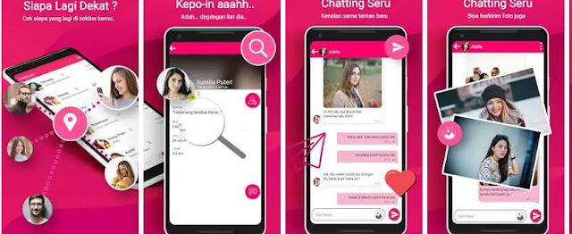 Aplikasi Kepo: Chat dan Cari Jodoh Terdekat
