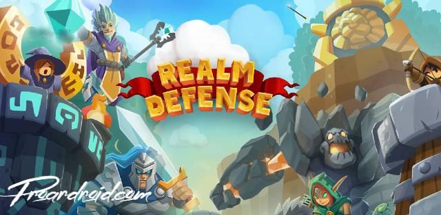 لعبة Realm Defense مهكرة كاملة للاندرويد (اخر اصدار)