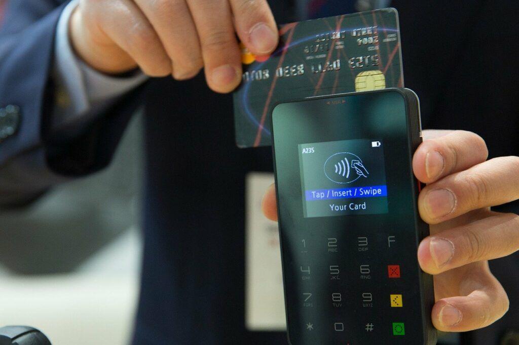 Maquina de cartão com contacless
